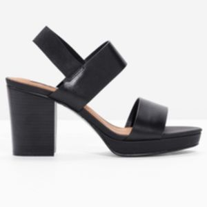 And other stories Chunky Leather Heels
